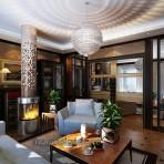 Phòng khách cổ điển châu âu – Mã 05